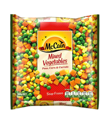 McCain Mixed Vegetables 500g removebg preview