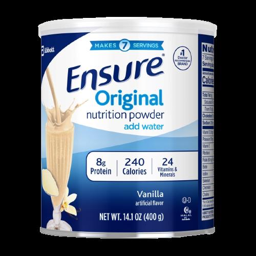 ENSURE ORIGINAL NUTRITION POWDER removebg preview