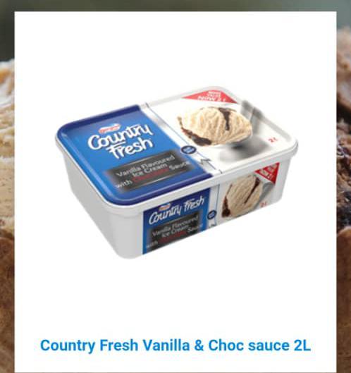 Country Fresh Vanila 2l by packs 19500