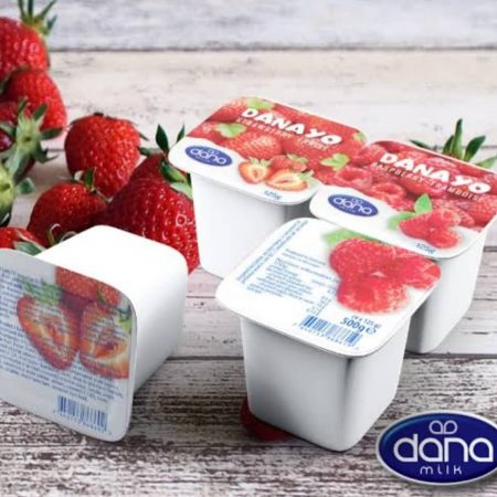 Denayo Yougurt By 24 Pieces 7500 Available in Peach Strawberry Banana Pineapple Blueberry Resberry