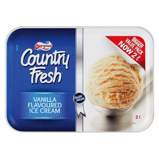Dairy Maid 2L Country Fresh Chocolate Fudge Ice Cream