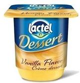 lactel desser vannila