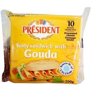 president sliced guoda